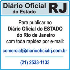 Para Publicar Anúncios no DIÁRIO OFICIAL DO ESTADO DO RIO DE JANEIRO – IMPRENSA OFICIAL DO ESTADO DO RJ