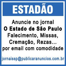 Para Publicar Anúncio Fúnebre no Jornal O Estado de São Paulo