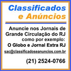 (21) 2524-0766 Para Publicar Anúncios no Jornal O GLOBO e EXTRA RJ, com toda comodidade